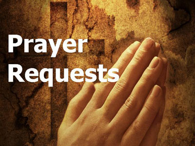 Prayer Request | God | HBC